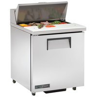 True TSSU-27-8-ADA-HC LH 27 inch 1 Left Hinged Door ADA Height Refrigerated Sandwich Prep Table