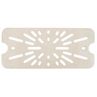 Cambro 80HPD722 1/8 Size Sandstone High Heat Drain Tray