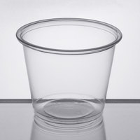Choice 5.5 oz. Clear Plastic Souffle Cup / Portion Cup - 2500/Case