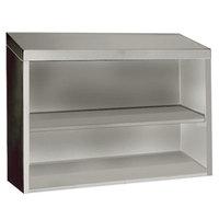 Advance Tabco WCO-15-36 36 inch Open Wall Cabinet
