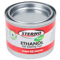 Sterno Products 20106 Ethanol Gel Chafing Dish Fuel Canisters   - 6/Pack