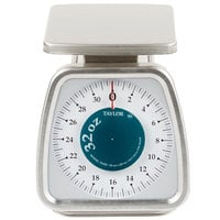 Taylor TS32F 32 oz. Mechanical Portion Control Scale