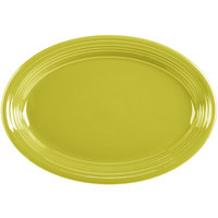 Homer Laughlin 458332 Fiesta Lemongrass 13 5/8 inch Platter - 12/Case
