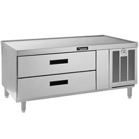 Delfield F2956P 56 inch 2 Drawer Refrigerated Chef Base