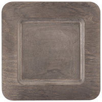 Lodge U5WP 7 3/4 inch Walnut Stain Square Wood Underliner