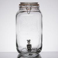 1.5 Gallon Style Setter Main Street Glass Beverage Dispenser