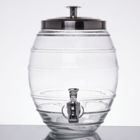 1 Gallon Style Setter Pub Glass Beverage Dispenser