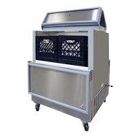 Master-Bilt DOMC-084-A White Dual Access Milk Cooler - 35 inch
