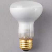 Satco S3849 45 Watt Frosted Incandescent General Service Light Bulb - 130V (R20)