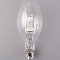 Satco S5833 400 Watt Cool White Clear Finish Metal Halide HID Light Bulb (ED37)