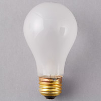Satco S3951 40 Watt Frosted Finish Incandescent Rough Service Light Bulb - 2/Pack