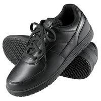 Genuine Grip 210 Women's Size 10 Wide Width Black Leather Sport Classic Non Slip Shoe