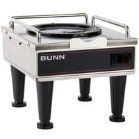 Bunn 12203.0010 RWS1 Coffee Server Warmer with Plastic Legs - 120V