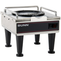 Bunn 12203.0010 RWS1 Coffee Server Warmer with Plastic Legs - 120V