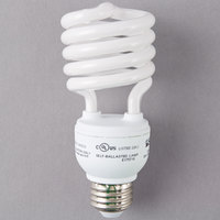 Satco S7228 23 Watt (100 Watt Equivalent) Cool White Compact Fluorescent Light Bulb - 120V (T2)