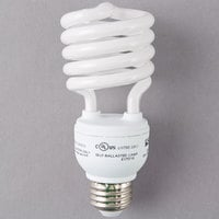 Satco S7228 23 Watt (100 Watt Equivalent) Cool White Compact Fluorescent Light Bulb - 120V (T2)