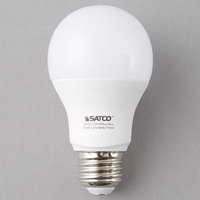 Satco S9593 10 Watt (60 Watt Equivalent) Frosted Warm White Multi-Directional LED Light Bulb - 120V (A19)