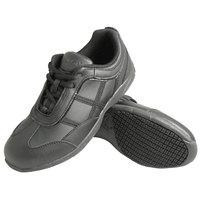 Genuine Grip 330 Women's Size 9.5 Medium Width Black Leather Casual Athletic Non Slip Shoe
