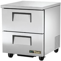 True TUC-27D-2-HC 27 inch Undercounter Refrigerator with Two Drawers