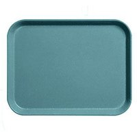 Cambro 1826CL674 Camlite 18 inch x 26 inch Steel Blue Tray - 12/Case