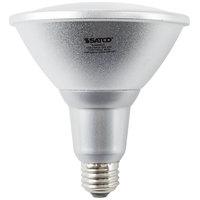 Satco S9455 18 Watt (100 Watt Equivalent) Warm White Indoor/Outdoor LED Reflector Light Bulb - 120V (PAR38)