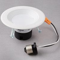 Satco S9461 9 Watt (45 Watt Equivalent) Warm White LED Downlight Retrofit 4'' Light Fixture - 120V