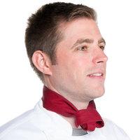 37 inch x 14 inch Burgundy Chef Neckerchief / Bandana