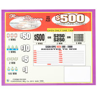 River Queen 5 Window Pull Tab Tickets - 1800 Tickets Per Deal - Total Payout: $675