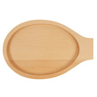 8 inch x 12 1/2 inch Oval Wood Serving Underliner