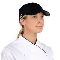 Headsweats 7700-202 Black Eventure Fabric Chef Cap