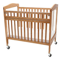 L.A. Baby WC-530A-N 24 inch x 38 inch Window Crib with 3 inch Fire Retardant Mattress and Safety Access Gate