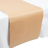 Creative Converting 317607 14 inch x 84 inch Kraft Paper Table Runner