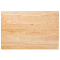 Choice 18 inch x 12 inch x 1 3/4 inch Wood Cutting Board