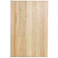 Choice 24 inch x 16 inch x 1 3/4 inch Wood Cutting Board