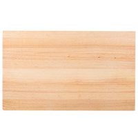 Choice 30 inch x 18 inch x 1 3/4 inch Wood Cutting Board
