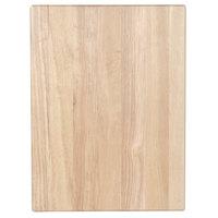 Choice 20 inch x 15 inch x 1 3/4 inch Wood Cutting Board