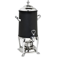 Eastern Tabletop CBK203FS Freedom 3 Gallon Stainless Steel Insulated Coffee Chafer Urn with Black Exterior Coating