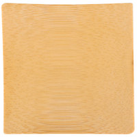 Tablecraft BAMDSBAM2 2 1/2 inch x 2 1/2 inch Bamboo Disposable Square Dish - 48/Pack