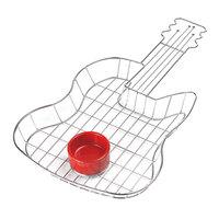 GET 4-81999 19 1/2 inch x 11 1/2 inch x 1 1/2 inch Guitar Basket with Condiment Holder