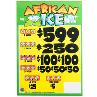 African Ice 5 Window Pull Tab Tickets - 3996 Tickets per Deal - Total Payout: $1399