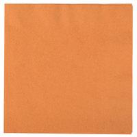Pumpkin Spice Orange Paper Dinner Napkin, 3-Ply - Creative Converting 323383 - 250/Case