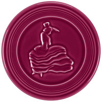 Homer Laughlin 443341 Fiesta Claret 6 inch Trivet - 6/Case