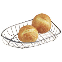 GET 4-80007 Stainless Steel Boat Basket - 9 1/2 inch x 5 inch x 2 1/2 inch