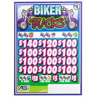 Biker Bucks 3 Window Pull Tab Tickets - 2716 Tickets per Deal - Total Payout: $2316