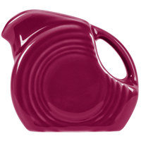 Homer Laughlin 475341 Fiesta Claret 5 oz. Mini Disc Creamer Pitcher - 4/Case