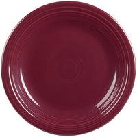 Homer Laughlin 466341 Fiesta Claret 10 1/2 inch Round Dinner Plate - 12/Case