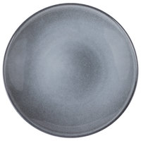 Homer Laughlin 220541438 Brownfield 10 1/8 inch Pewter Deep Salad Plate - 12/Case