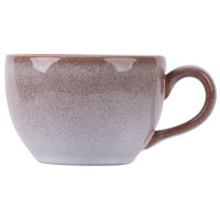 Homer Laughlin 223041437 Brownfield 8 oz. Cobblestone Cup - 12/Case