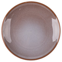 Homer Laughlin 220841437 Brownfield 10 3/8 inch Cobblestone Plate - 12/Case