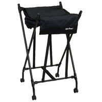 Black Mobile Spring Loaded Laundry Lifter Hamper®